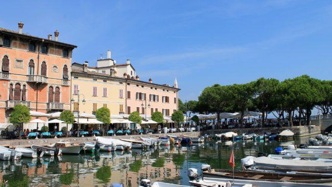Alter Hafen in Desenzano del Garda