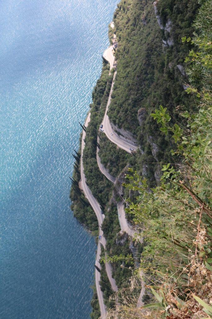 Die Serpentinen nach Tremosine sul Garda hinauf