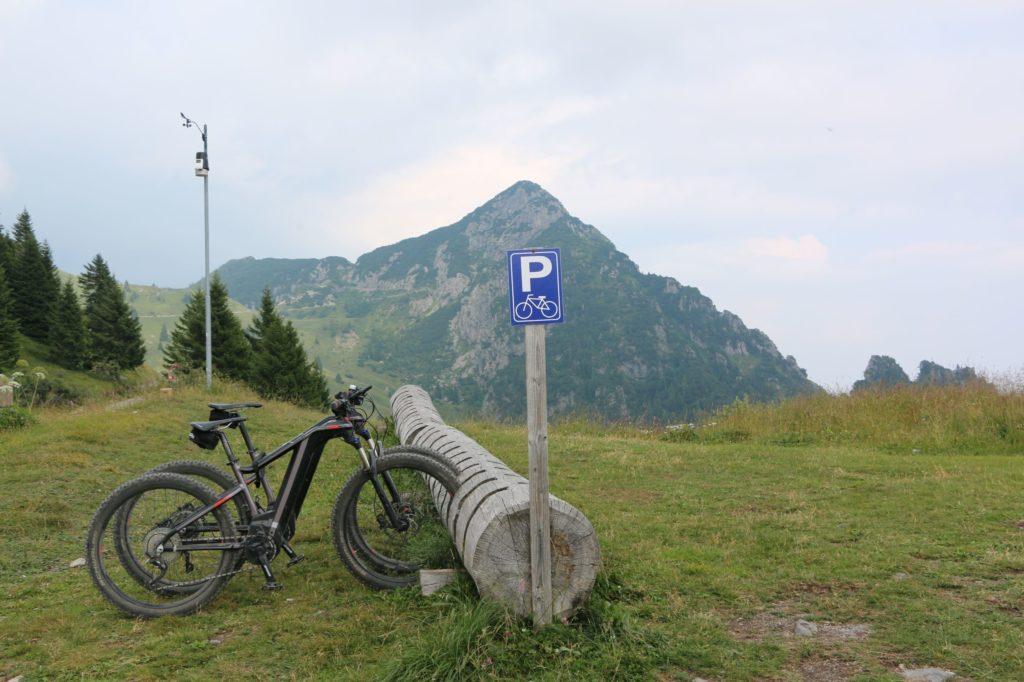 Alleine am Tremalzo Pass